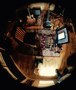Live Room Guitars Fisheye