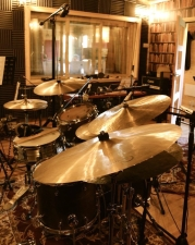 Drums in the live room