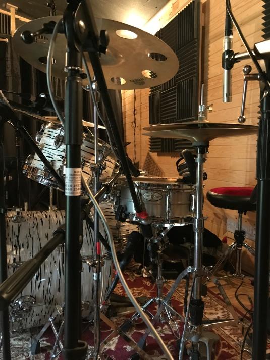 Snare mic'ing