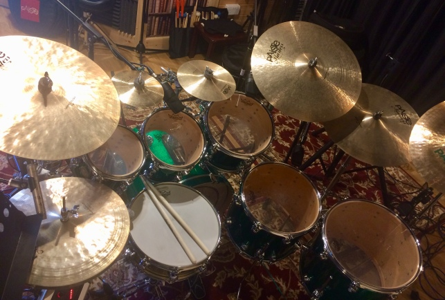 DW Drums/Paiste Cymbals